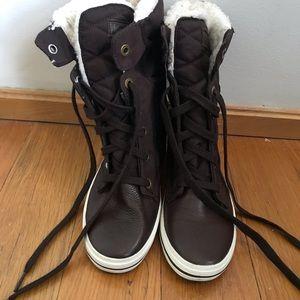 Fur Sneaker/Boots NWOT